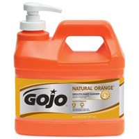 Gojo 0948-04 Natural Orange Smooth Heavy Duty Hand Cleaners 1