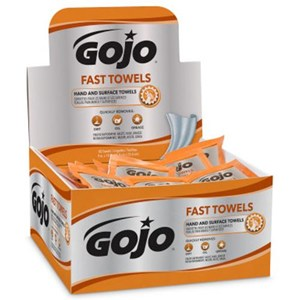 Gojo 6280-04 Fast Hand Cleaning Towels