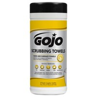 Gojo 6383-06 Scrubbing Hand Cleaning Towels 1