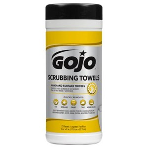 Gojo 6383-06 Scrubbing Hand Cleaning Towels