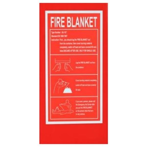 Leopard Fire Blanket Size 1.2 x 1.2 m