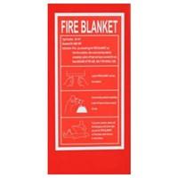 Leopard Fire Blanket Size 1.8 x 1.8 m
