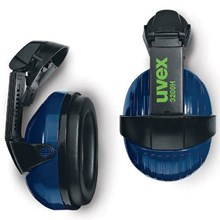 Uvex 2500.025 3200H Earmuffs with Helmet Attachment