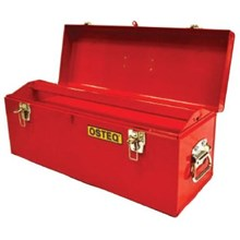 Osteq T9224SH Portable Toolbox with Tray and Side Handle