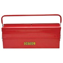 "Osteq T9961 Heavy Duty Cantilever Toolbox 21.5"" with 5 Tray and Double Handle"