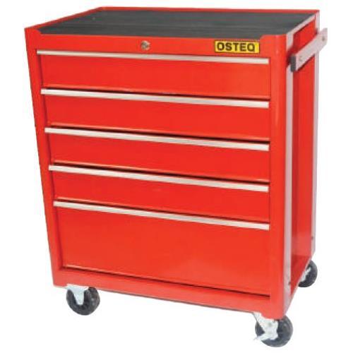 jual osteq t9305 roller cabinet 5 drawer with smooth action slide cabinet harga murah jakarta. Black Bedroom Furniture Sets. Home Design Ideas