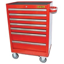 Osteq T9307 Roller Cabinet 7 Drawer with Heavy Duty Side Handle