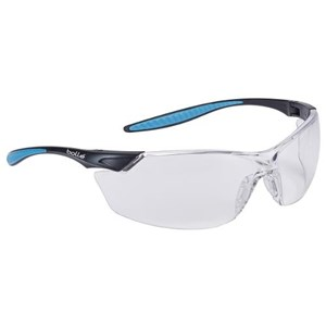 Bolle MAMPSI Clear Mamba Safety Glasses Eye Protection