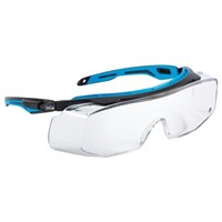 Bolle TRYOTGPSI Clear Tryon OTG Safety Glasses Eye Protection  1