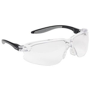 Bolle AXPSI Clear Axis Safety Glasses Eye Protection