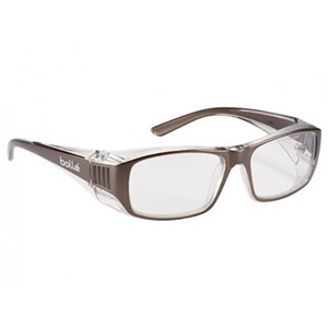 Bolle B808BLPSI Clear B808 Safety Glasses Eye Protection