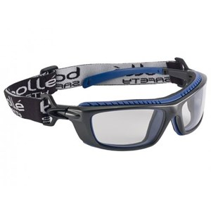 Bolle BAXPSI Clear Baxter Safety Glasses Eye Protection