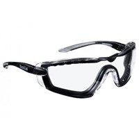 Bolle COBFTPSI Clear Cobra Safety Glasses Eye Protection 1