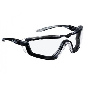 Bolle COBFTPSI Clear Cobra Safety Glasses Eye Protection