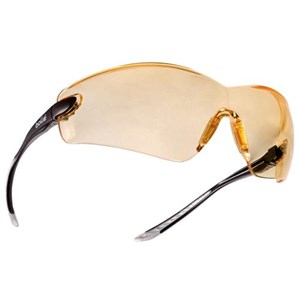 Bolle COBPSI Comfort Yellow Cobra Safety Glasses Eye Protection