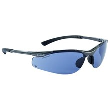Bolle CONTPSF Smoke Contour Safety Glasses Eye Protection