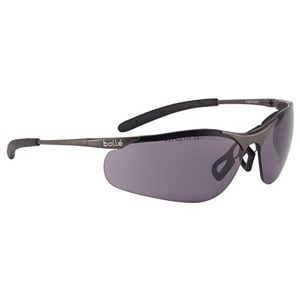 Bolle CONTMPSF Smoke Contour Metal Safety Glasses Eye Protection