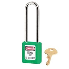Master Lock 410LTGRN Keyed Different Safety Padlocks