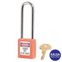 Master Lock 410LTORJ Keyed Different Safety Padlock Zenex Thermoplastic