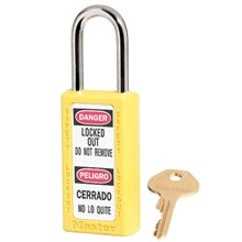 Master Lock 411MKYLW Master Keyed Safety Padlocks