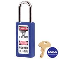 Master Lock 411BLU Keyed Different Safety Padlock