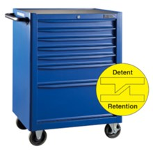 Blue Point KRB13007RED 7 Drawers Roll Cabinet