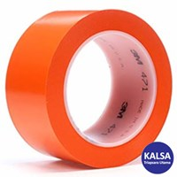 3M 471 Orange Vinyl Industrial Tape
