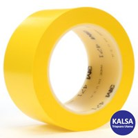 3M 471 Yellow Vinyl Industrial Tape