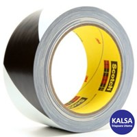 3M 5700 Black White Safety Stripe Industrial Tape