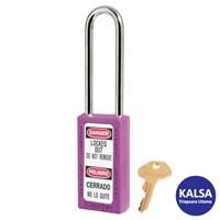 Master Lock 411LTPRP Keyed Different Safety Padlock