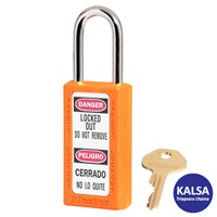 Master Lock 411KAORJ Keyed Alike Safety Padlock