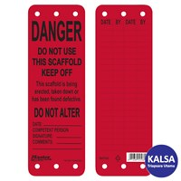 Master Lock S4700 Scaffolding Tags afety Tag