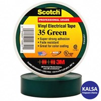 3M Scotch 35-GREEN-3/4 Vinyl Color Coding Electrical Tape 1