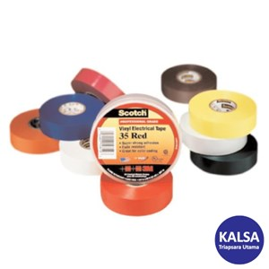 3M Scotch 35-MULTI-COLOR Vinyl Color Coding Electrical Tape