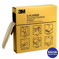 3M C-FL550DD Chemical and Universal Absorbent Folded