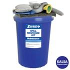 Solent SOL-742-0700A Circular Bin 90 Lt Maintenance Spill Kit 1