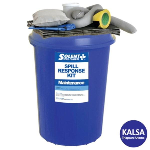 Solent SOL-742-0700A Circular Bin 90 Lt Maintenance Spill Kit