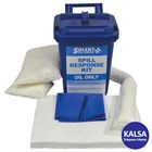 Solent SOL-742-7611M Caddy Bin 25 Lt Oil-Only Spill Kit 1