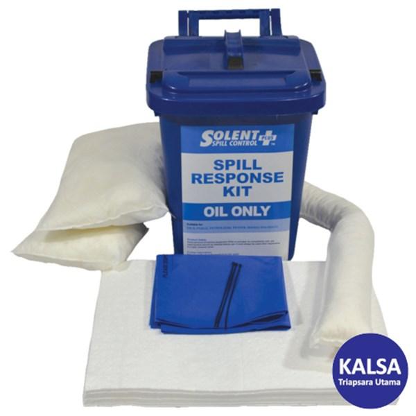 Solent SOL-742-7611M Caddy Bin 25 Lt Oil-Only Spill Kit