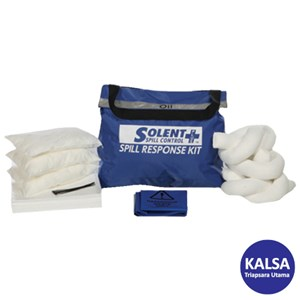 Dari Solent SOL-742-1640E Circular Bin 90 Lt Oil-Only Spill Kit 0