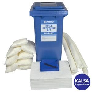 Dari Solent SOL-742-1670H Wheeled Bin 120 Lt Oil-Only Spill Kit 0