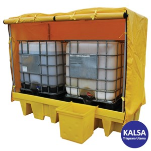 Solent SOL-741-0062C Intermediate Bulk Container Spill Pallet