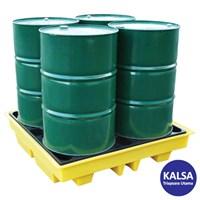 Solent SOL-741-0084C 4-Drum Spill Pallet