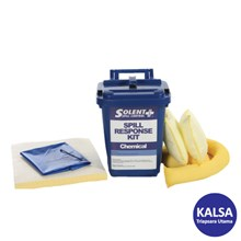Solent SOL-742-2115R Kit Candy Bin 25 Lt Chemical Spill Kit