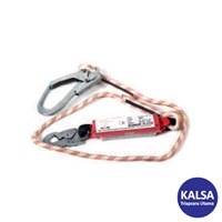 CIG CIGKM389 Energy Absorbing Braided Rope Lanyard