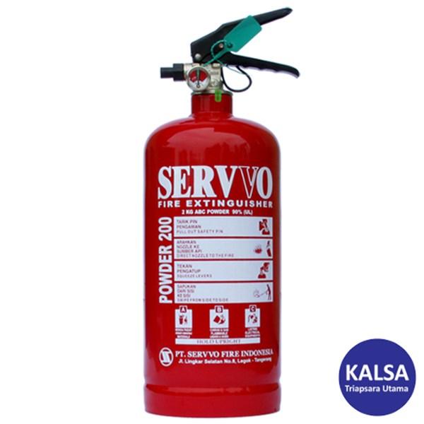 Servvo P200 ABC90 ABC Dry Chemical Powder Fire Extinguisher