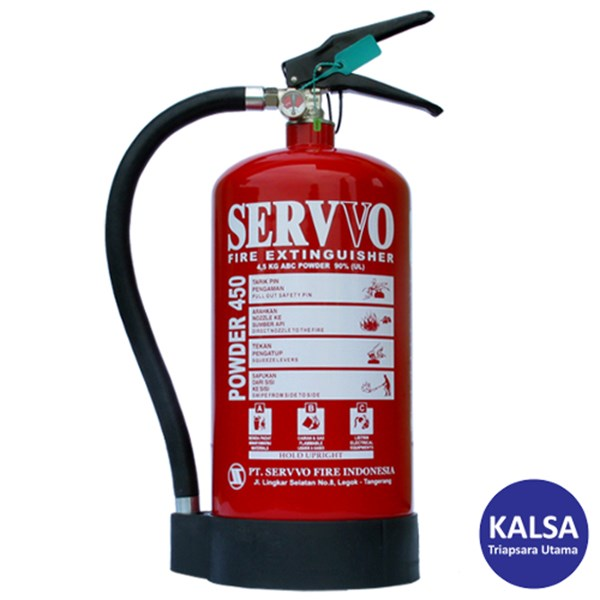 Servvo P450 ABC90 ABC Dry Chemical Powder Fire Extinguisher