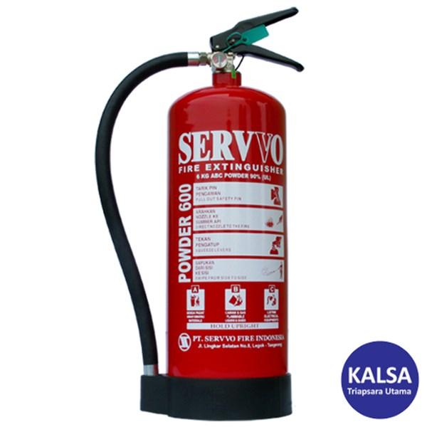 Servvo P600 ABC90 ABC Dry Chemical Powder Fire Extinguisher