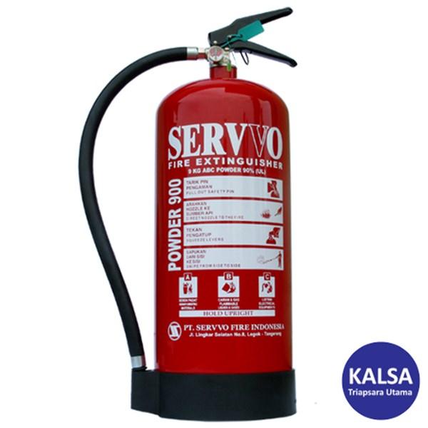 Servvo P900 ABC90 ABC Dry Chemical Powder Fire Extinguisher