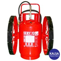 Servvo P 16000 ABC 90 Big Wheeled ABC Dry Chemical Powder Fire Extinguisher